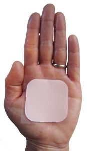 Fig 2. Contraceptive transdermal patch.